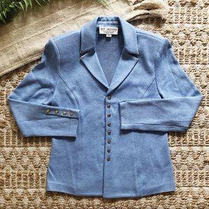 St. John Collection Blue Blazer